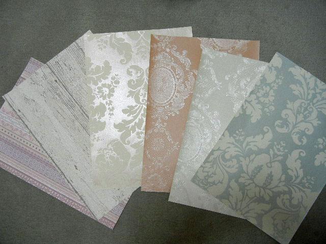 取り寄せた壁紙サンプル2