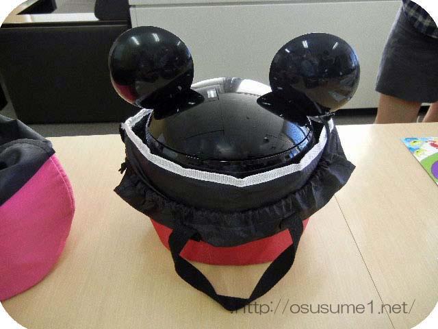 ミッキーマウスの耳