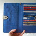 気分爽快。ポイントカードが整理整頓できるフェリシモの長財布。