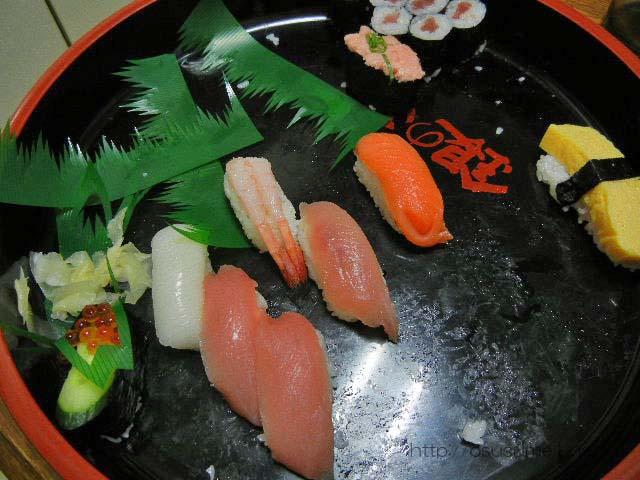 減っていく寿司