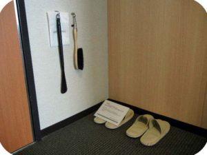 スリッパなど、靴のお手入れセット
