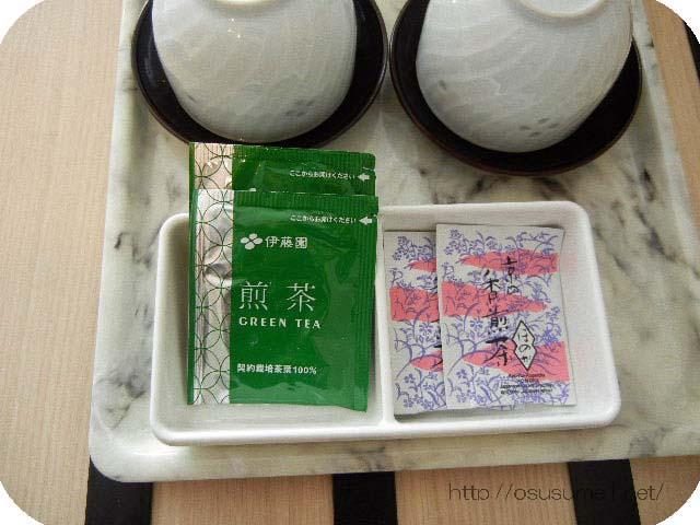 伊藤園ティーパックのお茶