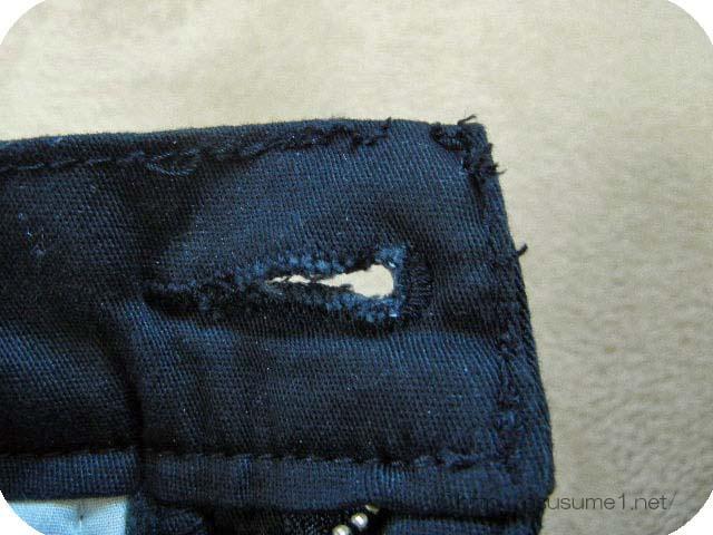 残念な縫製