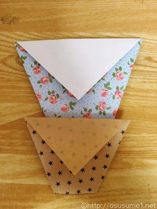 下のコップは100円ショップの折り紙です。