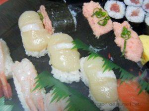 倒れた寿司