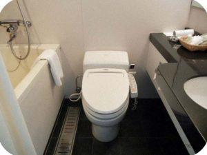バスルームのようす