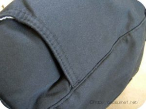 裏ボアパンツのポケット