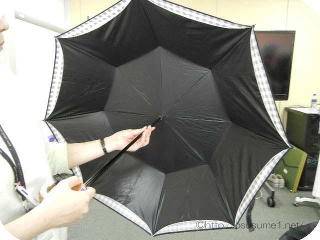 折りたたみ「晴雨兼用二重張りUV日傘」