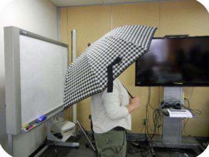 晴雨兼用二重張りUV日傘(折りたたみ)