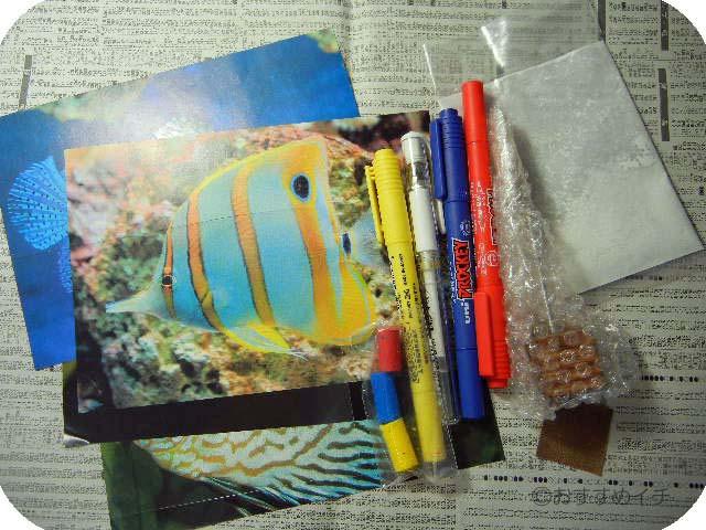 「見つけた 私だけの熱帯魚」キット教材