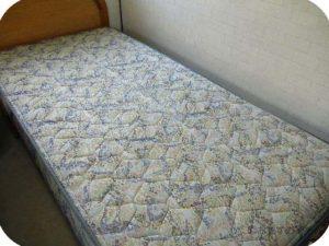 あーちゃんのベッドです。